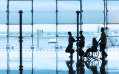 Airport travel with a mobility device doesn't have to be a pain with HDS Medallion's helpful tips!