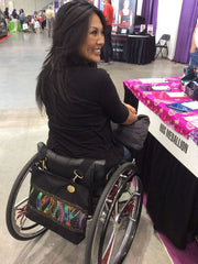 Sophisticated Styles in Wheelchair Bags