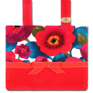Red Caribbean Upbeat Mobility Bag  | HDS Medallion