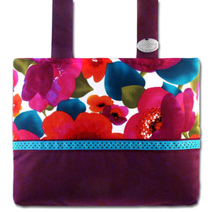 Classic Poppy Punch Berry Bag | HDS Medallion