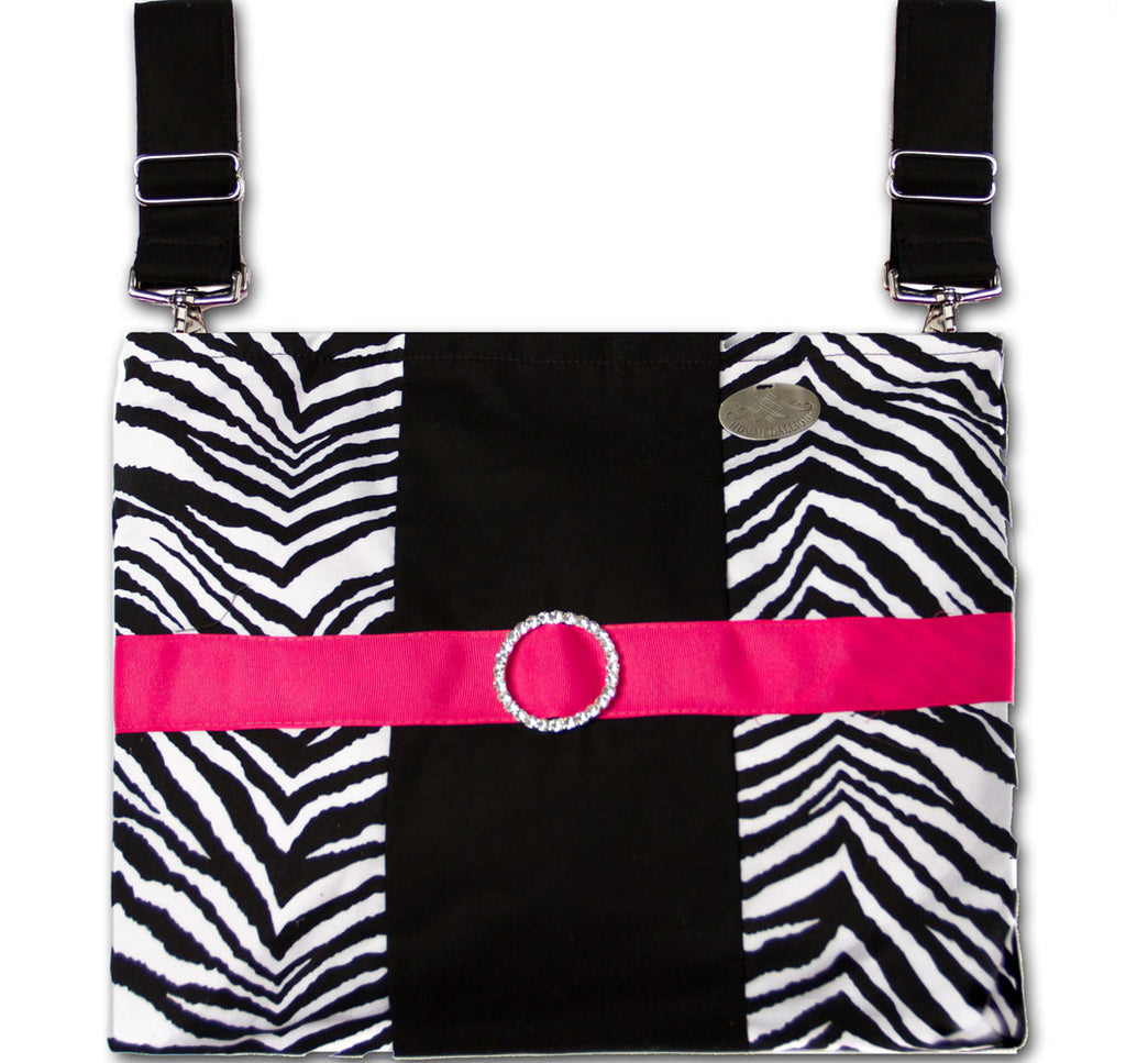 Zebra Print Mobility Bag for Chairs & Walkers | HDS Medallion