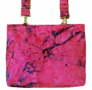 Premier Romantic Rose Swirl Bag | A Beautiful Dance of Purple and Pink