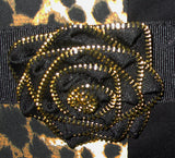 Optional Zippered Rose for Leopard Bag  | HDS Medallion