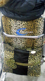 Metro Leopard Wheelchair Bag With Zipper - Hear Me Roar!