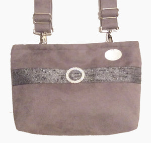 Demi-Premier Lush Mini Demi Silver Dress-Up Bag For The Holidays