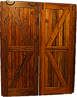 Barn Doors & Handcrafted Wood Doors u2013 Burnich Frame u0026 Moulding