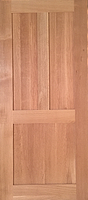 Oak - Qtr sawn - 3 panel - Finished