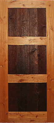 Knotty Alder - Barn wood panels - Finished