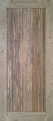 Barnwood - Gray - Circle sawn - Single Panel - Unfinished