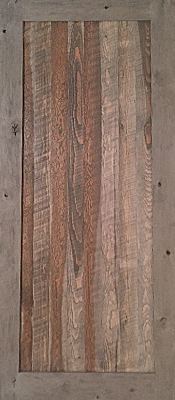 Barnwood - Gray - Bandsaw - Single  panel - Unfinished