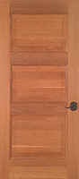 White Oak - Qtr sawn - 3 panel - Finished