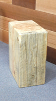 Wood stools/side tables