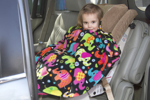 Car Seat, Stroller and Babywearing Capes - Wrapt - 1