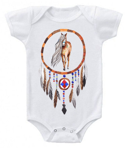 Dreamcatcher horse bodysuit