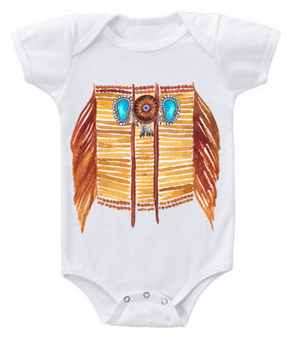 Breastplate onesie