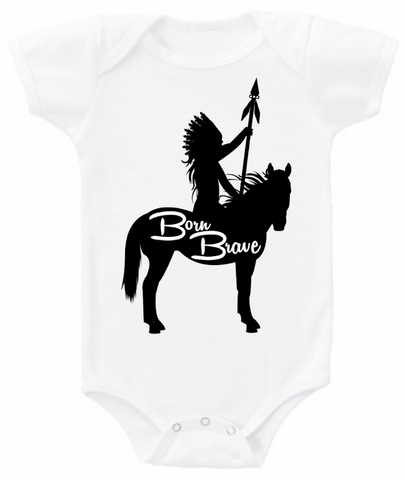 Born Brave bodysuit