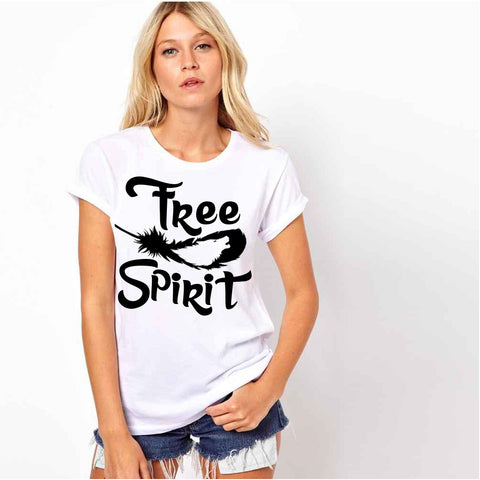 FREE SPIRIT FEATHER SHIRT