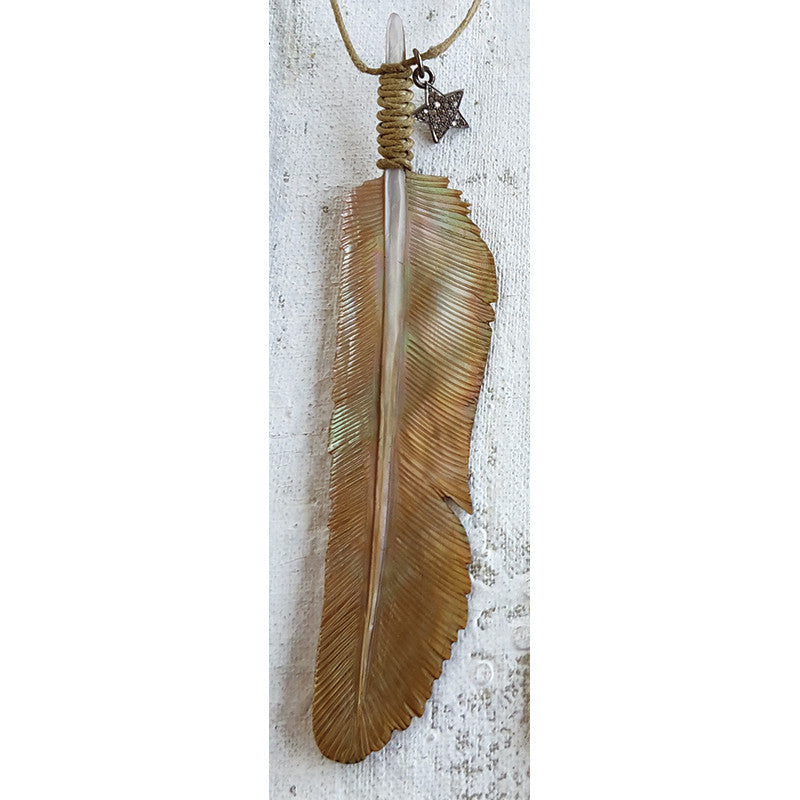 SS1650 Shaman's Feather Necklace