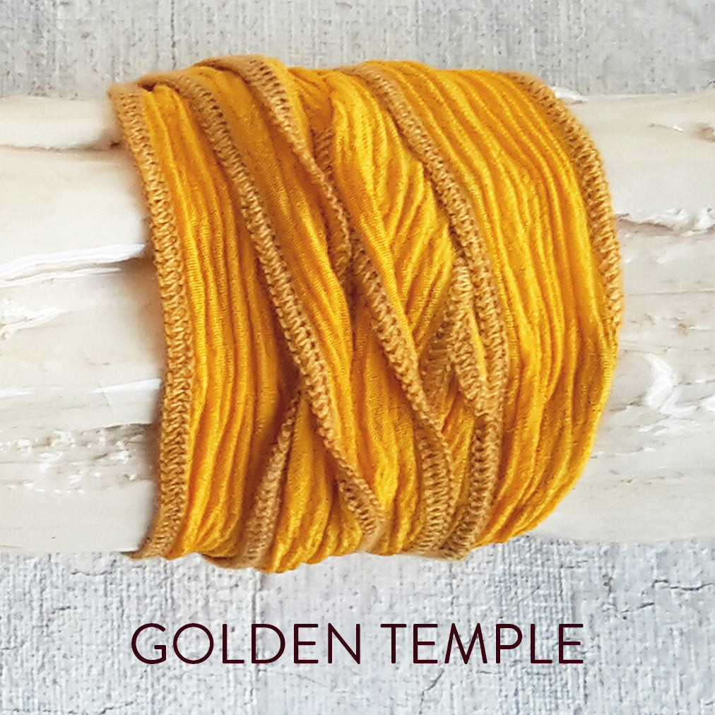 Golden Temple silk