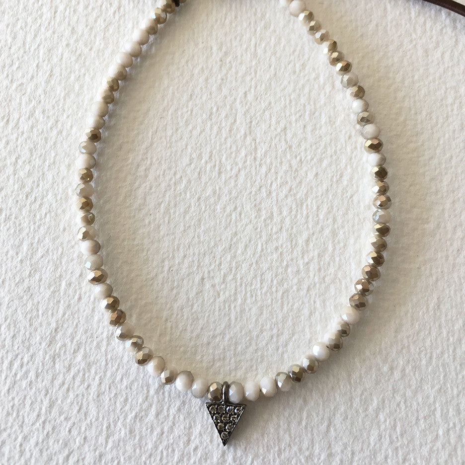 White Arrow bracelet