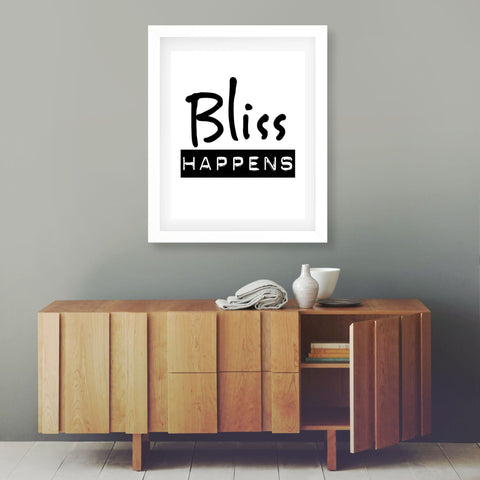 Bliss Happens - THE LOVE BOMB COMPANY