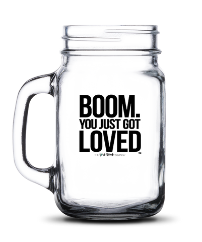 BOOM. You Just Got Loved, with a handle - THE LOVE BOMB COMPANY