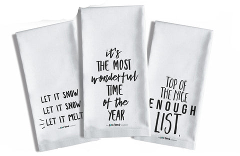 TEA TOWELS TO DIE FOR