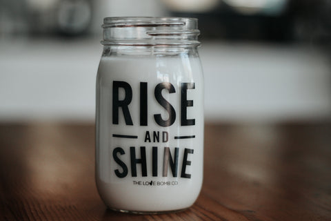 RISE AND SHINE CANDLE