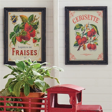 Strawberry Framed Print - Fraises