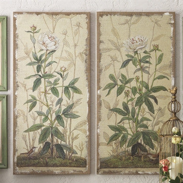 Botanical Wall Art /Set of 2