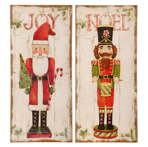 """Joy"" Santa Wall Art - On Sale Now!"