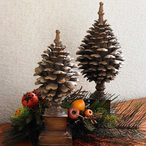 Pine Cone Finial 16""