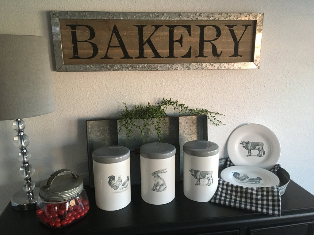 "BAKERY"" Wall Art"