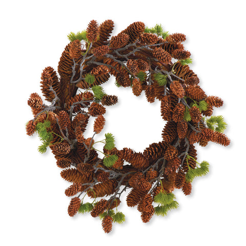"18"" Pinecone Wreath"