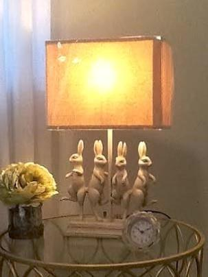 Dancing Rabbits Lamp