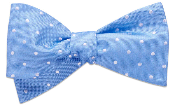Bennington Light Blue Self-Tie Bow Tie