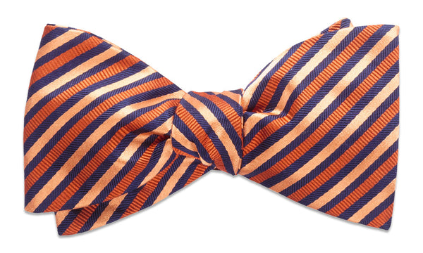 Bristol Orange Self-Tie Bow Tie