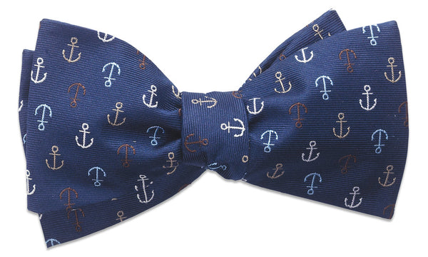 Cumberland Bay Navy Self-Tie Bow Tie