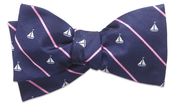 Champlain Blue Self-Tie Bow Tie