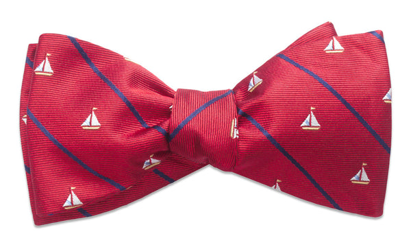 Champlain Red Self-Tie Bow Tie