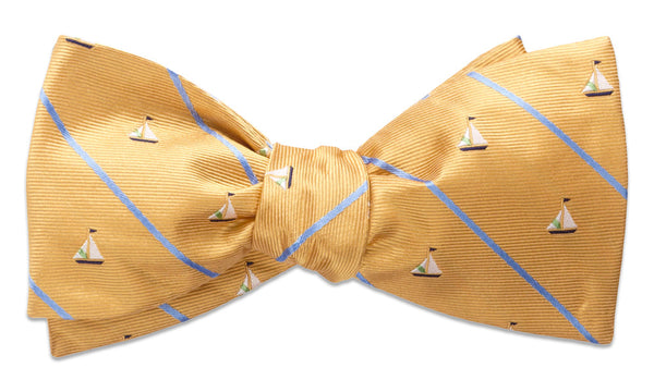 Champlain Yellow Self-Tie Bow Tie