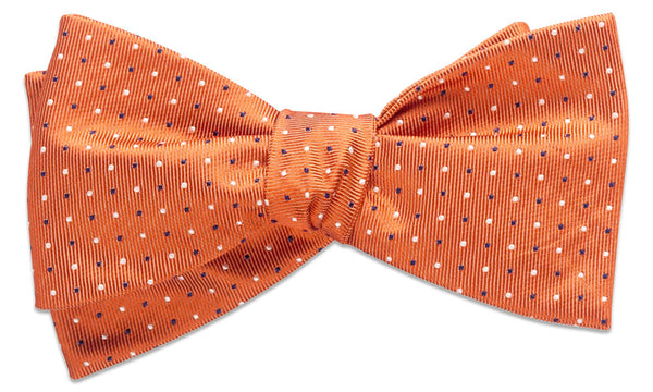 Cambridge Orange Self-Tie Bow Tie