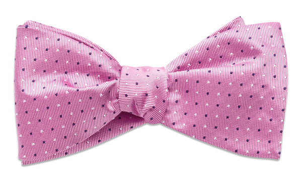 Cambridge Pink Self-Tie Bow Tie