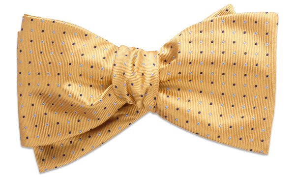 Cambridge Yellow Self-Tie Bow Tie