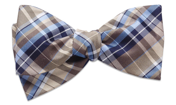 Cornwall Brown Self-Tie Bow Tie