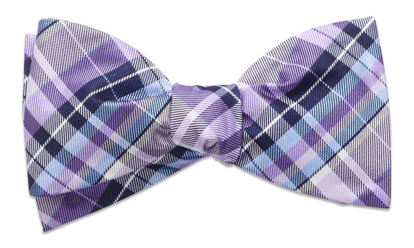 Cornwall Purple Self-Tie Bow Tie