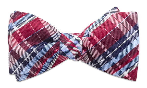 Cornwall Red Self-Tie Bow Tie