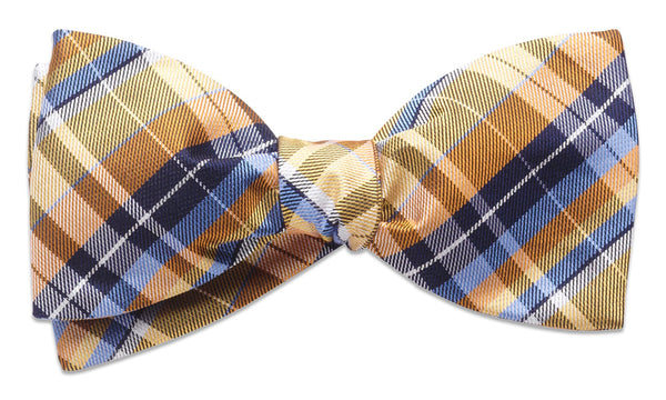 Cornwall Yellow Self-Tie Bow Tie
