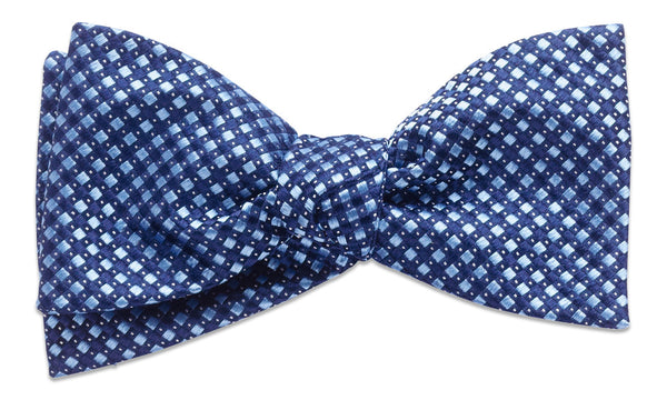 Hancock Blue Self-Tie Bow Tie
