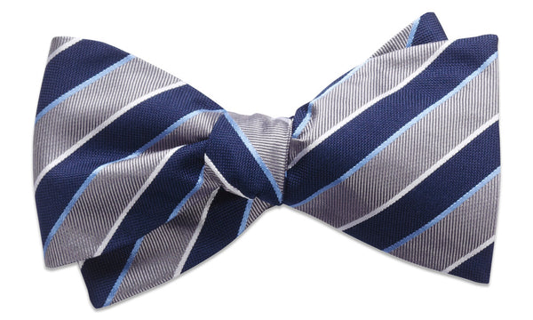 Norwich Silver Self-Tie Bow Tie